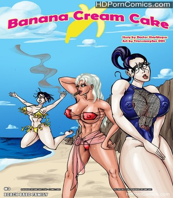 Porn Comics - Banana Cream Cake 3 – Beach Babe Family Sex Comic