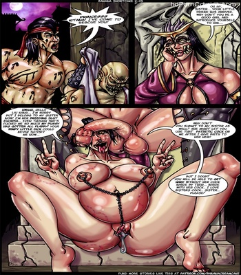 Banana Shortcake 2 – Mortal Kumdump Sex Comic