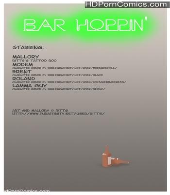 Porn Comics - Bar Hoppin Sex Comic