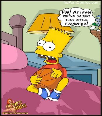 Bart Entrapped- Simpsons6 free sex comic