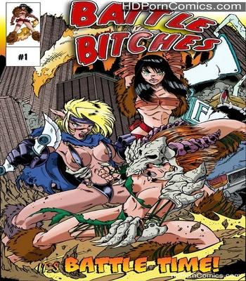 Porn Comics - Battle Bitches 1 – It's Battle Time Sex Comic