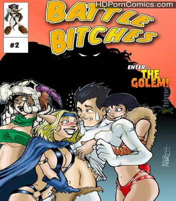 Porn Comics - Battle Bitches 2 – Enter The Golem Sex Comic