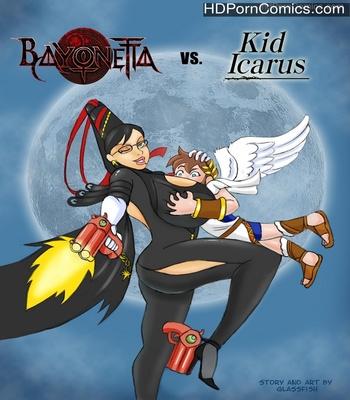 Porn Comics - Bayonetta vs Kid Icarus Sex Comic