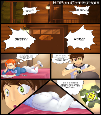 Porn Comics - Ben 10- Fourarms x Gwen free Cartoon Porn Comic
