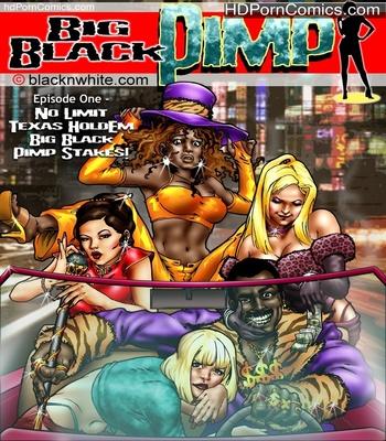 Porn Comics - Big Black Pimp 1 Sex Comic