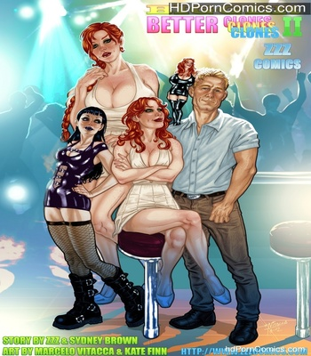 Porn Comics - Bigger Better Clones 2 Sex Comic