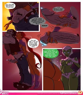 Bikini Space Police – Stop And Frisky Sex Comic sex 4