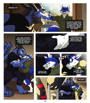 Black And Blue 2 Sex Comic