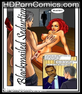 Blackmailed seduction-Kaos free Cartoon Porn Comic