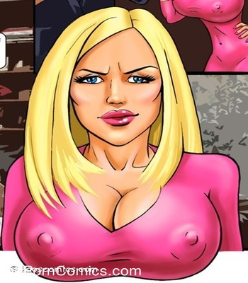 Blackmailed seduction-Kaos7 free sex comic
