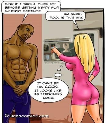 Blackmailed seduction-Kaos9 free sex comic