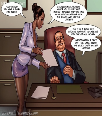 BlacknWhite -The Mayor 2 free Cartoon Porn Comic sex 3