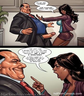 BlacknWhite -The Mayor 2 free Cartoon Porn Comic sex 6