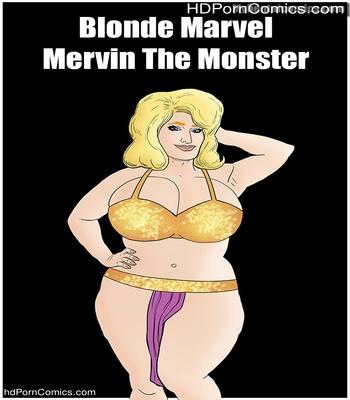 Porn Comics - Blonde Marvel – Mervin The Monster Sex Comic