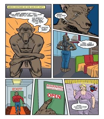 Blonde Marvel – Mervin The Monster Sex Comic sex 19