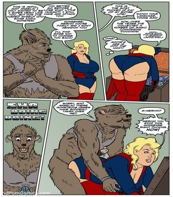 Blonde Marvel – Mervin The Monster Sex Comic sex 2