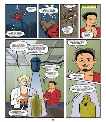 Blonde Marvel – Mervin The Monster Sex Comic sex 23