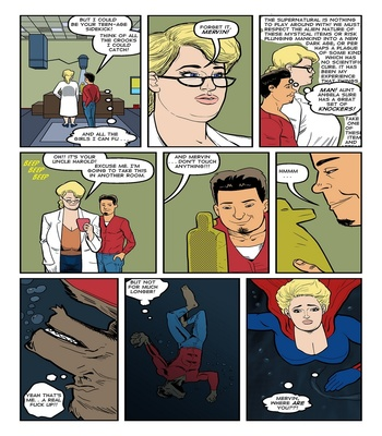 Blonde Marvel – Mervin The Monster Sex Comic sex 24