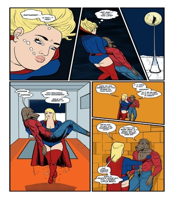 Blonde Marvel – Mervin The Monster Sex Comic sex 25