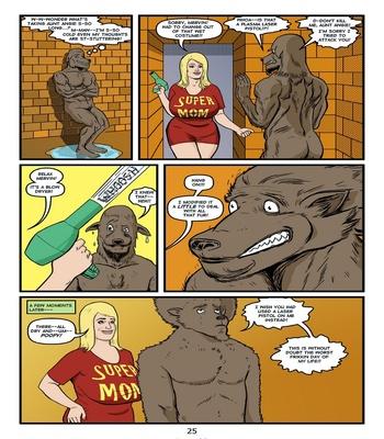 Blonde Marvel – Mervin The Monster Sex Comic sex 27