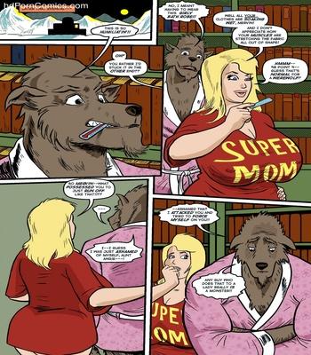 Blonde Marvel – Mervin The Monster Sex Comic sex 28