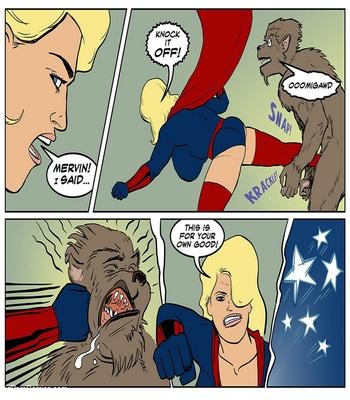 Blonde Marvel – Mervin The Monster Sex Comic sex 3