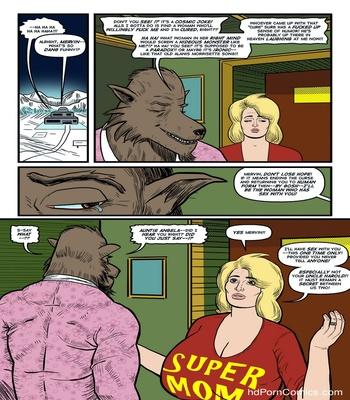 Blonde Marvel – Mervin The Monster Sex Comic sex 35