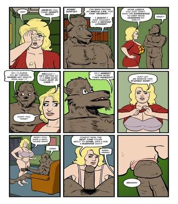 Blonde Marvel – Mervin The Monster Sex Comic sex 39