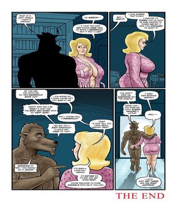 Blonde Marvel – Mervin The Monster Sex Comic
