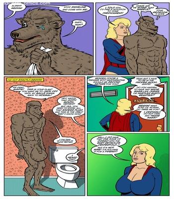 Blonde Marvel – Mervin The Monster Sex Comic sex 7