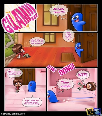 Bloo's Party Sex Comic sex 3