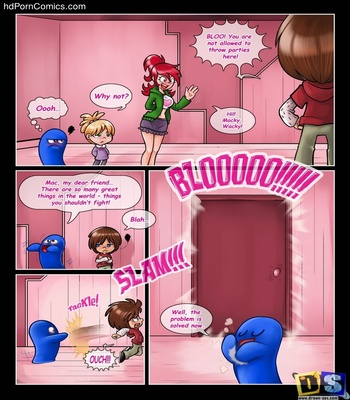 Bloo's Party Sex Comic sex 5