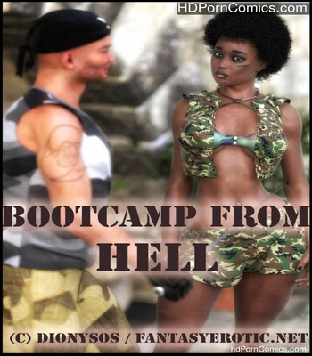 Porn Comics - Bootcamp From Hell Sex Comic
