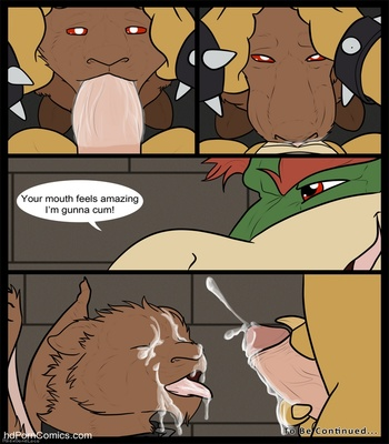 Bowser's Pet 1 Sex Comic