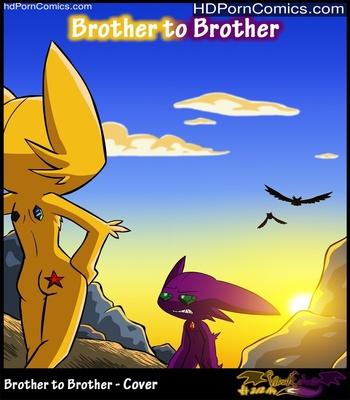 Porn Comics - Brother To Brother Sex Comic