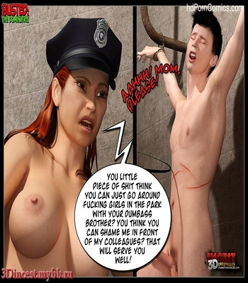 Busted 2 – The Dominatrix Sex Comic sex 26