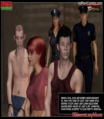 Busted 2 – The Dominatrix Sex Comic sex 4