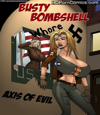 Porn Comics - Busty Bombshell – Axis Of Evil Sex Comic