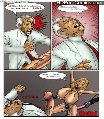 Busty Bombshell Sex Comic