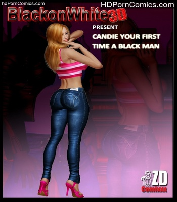 Porn Comics - Candie Your First Time A Black Man Sex Comic