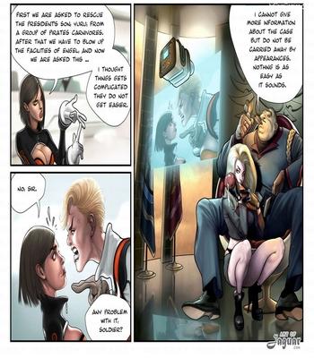 Captain Space12 free sex comic