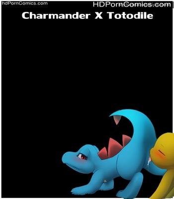 Charmander X Totodile Sex Comic thumbnail 001