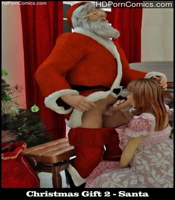 Porn Comics - Christmas Gift 2 – Santa Sex Comic