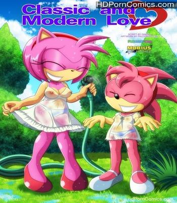 Porn Comics - Classic And Modern Love Sex Comic