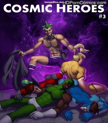 Porn Comics - Cosmic Heroes 3 Sex Comic
