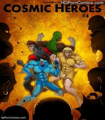 Porn Comics - Cosmic Heroes 4 Sex Comic