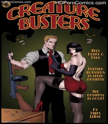 Porn Comics - Creature Buster Sex Comic