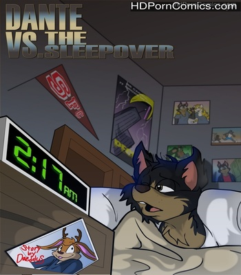 Porn Comics - Dante VS The Sleepover Sex Comic