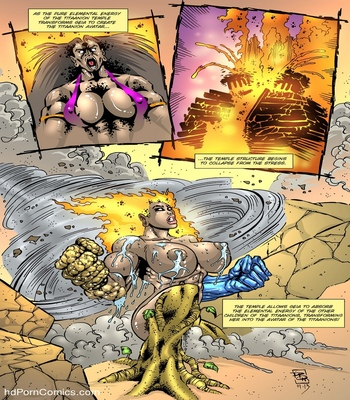 Dark Gods 1 - The Summoning comic porn