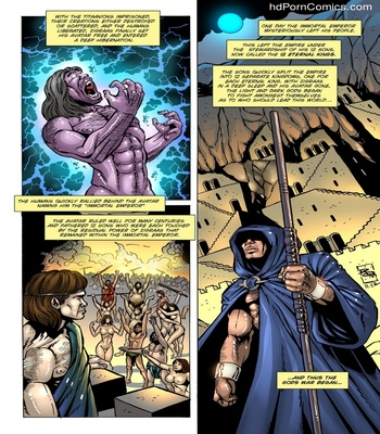 Dark Gods 1 - The Summoning 5 free sex comic